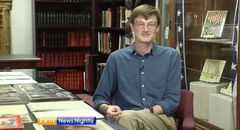Shane MacDonald discusses Mother Teresa collection on EWNT News Nightly.