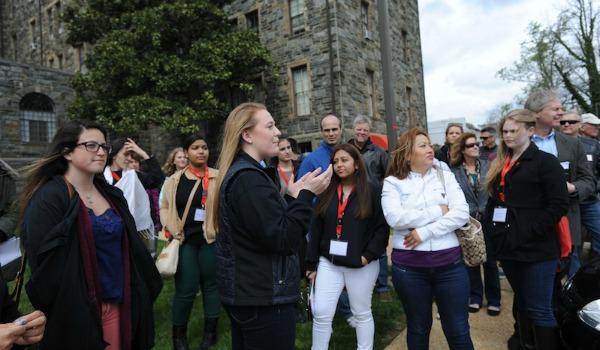 tour del campus
