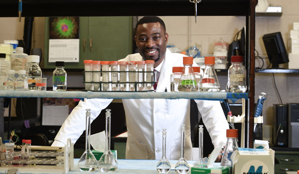Nigerian Doctor Attracted by 'Quality of Research'