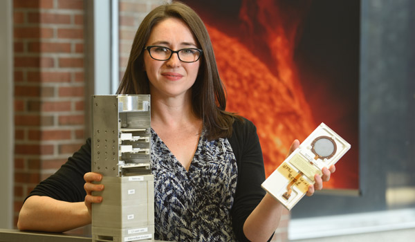 Physics Student Builds Space Weather Satellite