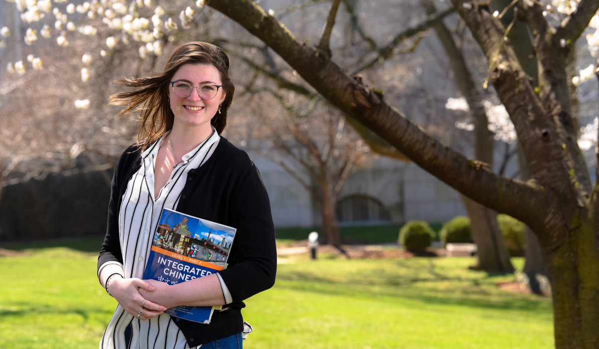 History Major Goes Across the Globe
