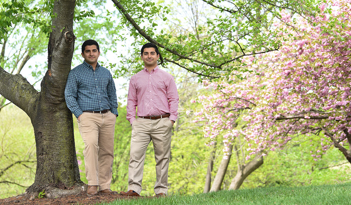 Biomedical Engineering Leads Twins to Future in Dentistry