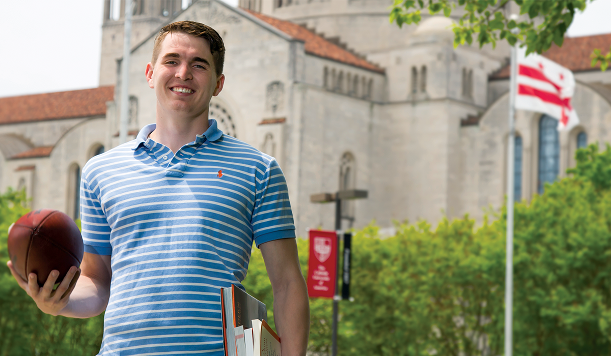 "Graduate Student Makes the Most of the ""4+1"" Program"