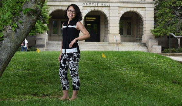 Graduate Student Travels Home to Fight Suicide