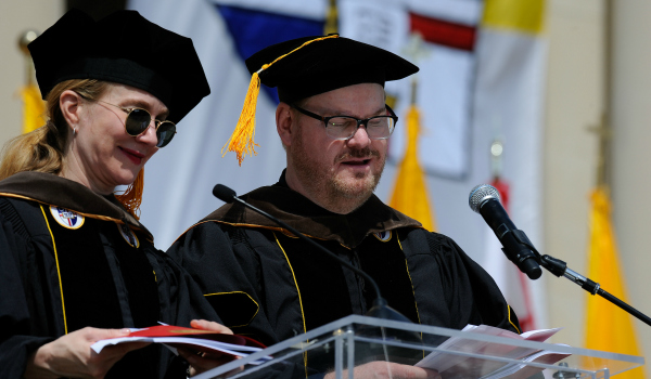 Jim and Jeannie Gaffigan's Commencement Speech