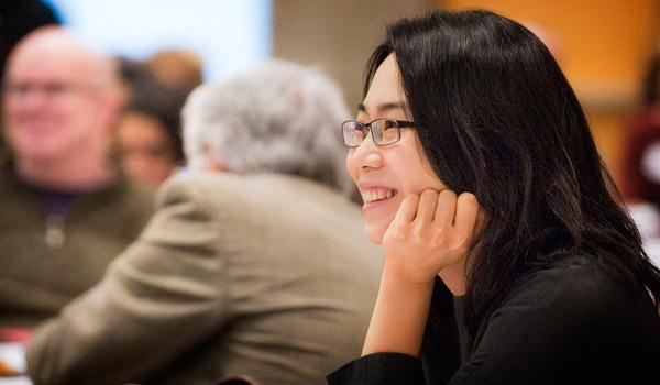 Adult student in professional studies program