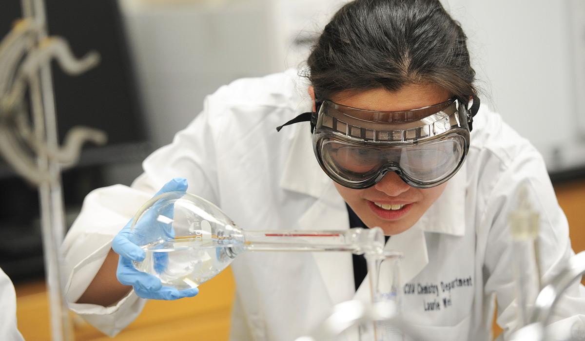Chemistry Student Lab Technician