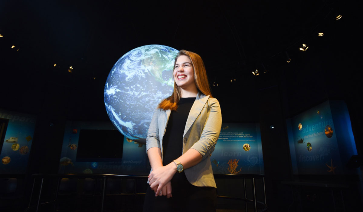 Student at NOAA internship