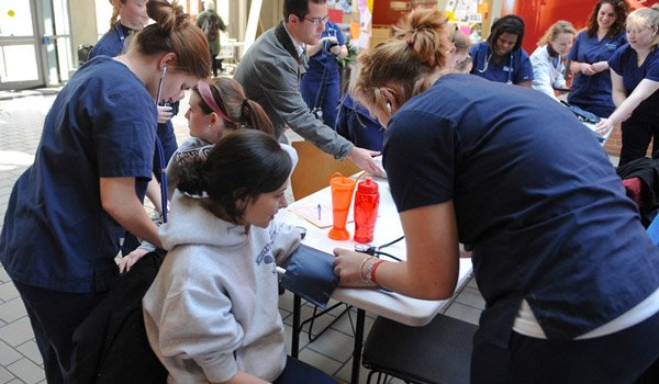 Health and Wellness Screening at Catholic University