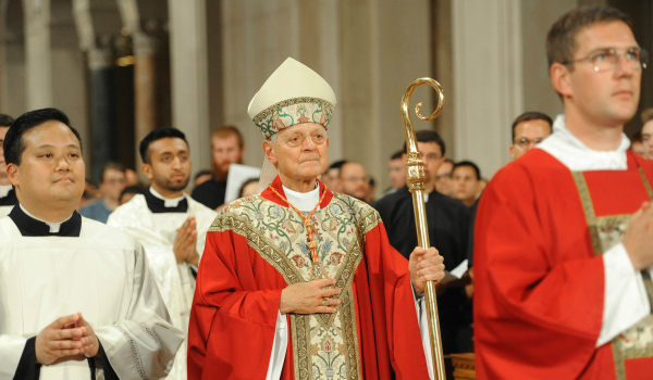 Cardinal Wuerl in the Mass of the Holy Spirit