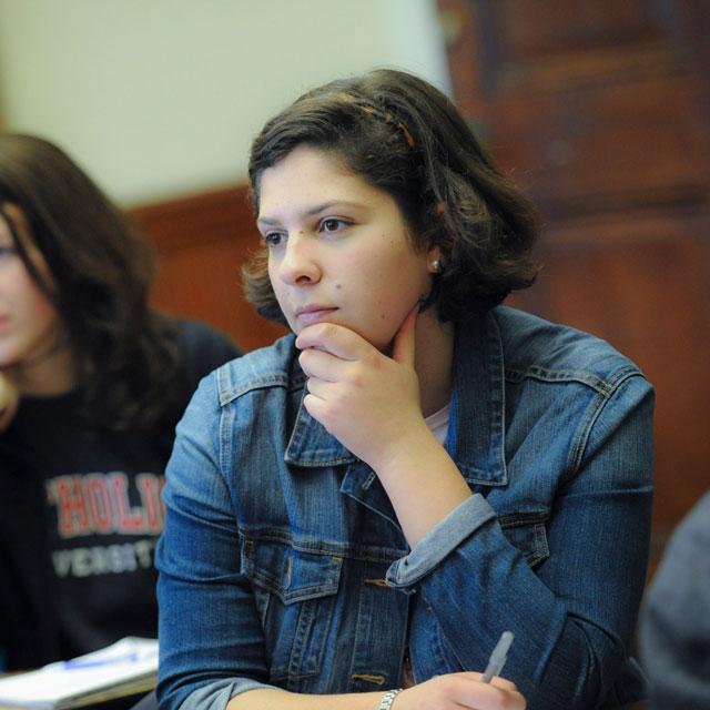 Danielle Schirripa, honors student