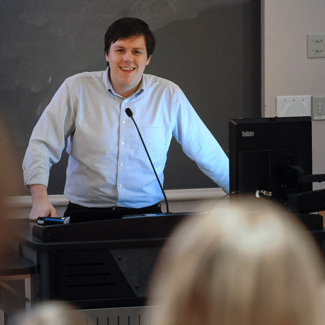 Nicolas Novak, honors student