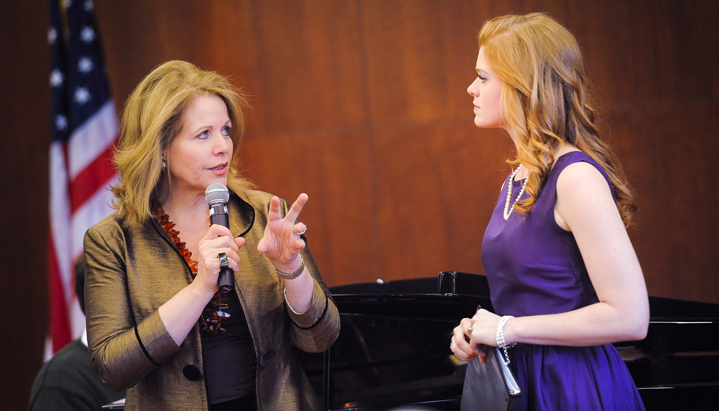 Catholic University musicians gain wisdom from world‐renowned artists
