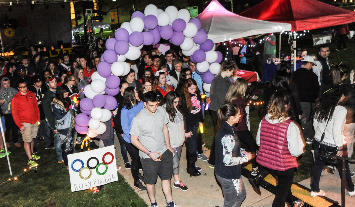 Students Fight Cancer with All-Night Relay