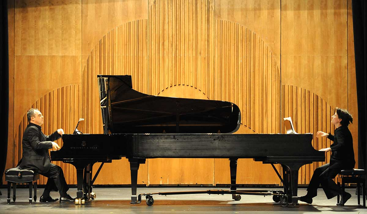 University research day shines a spotlight on students and for Piano diviso