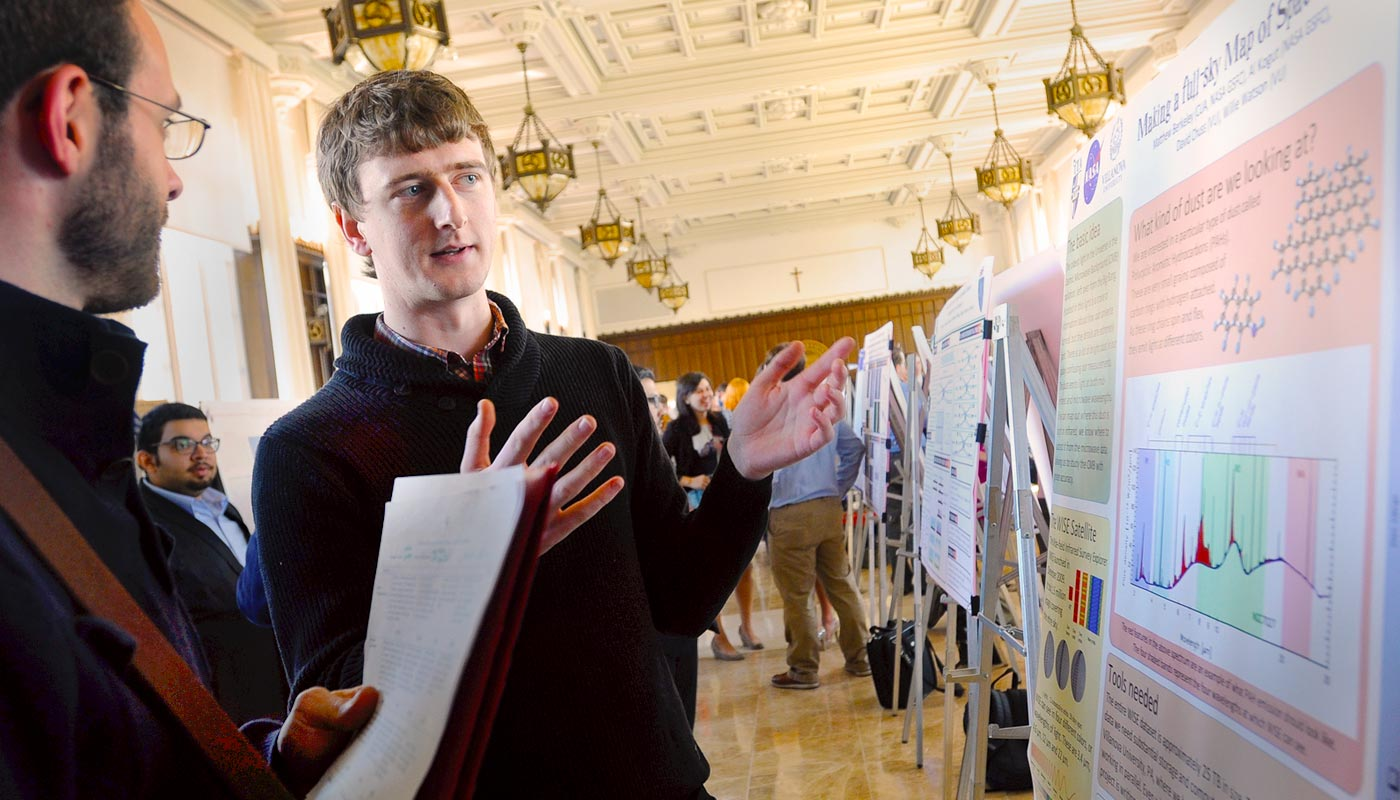 University Research Day shines a spotlight on students and faculty advancing  knowledge