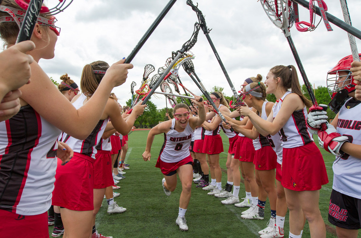 Laura Dunn, CUA women's lacrosse player