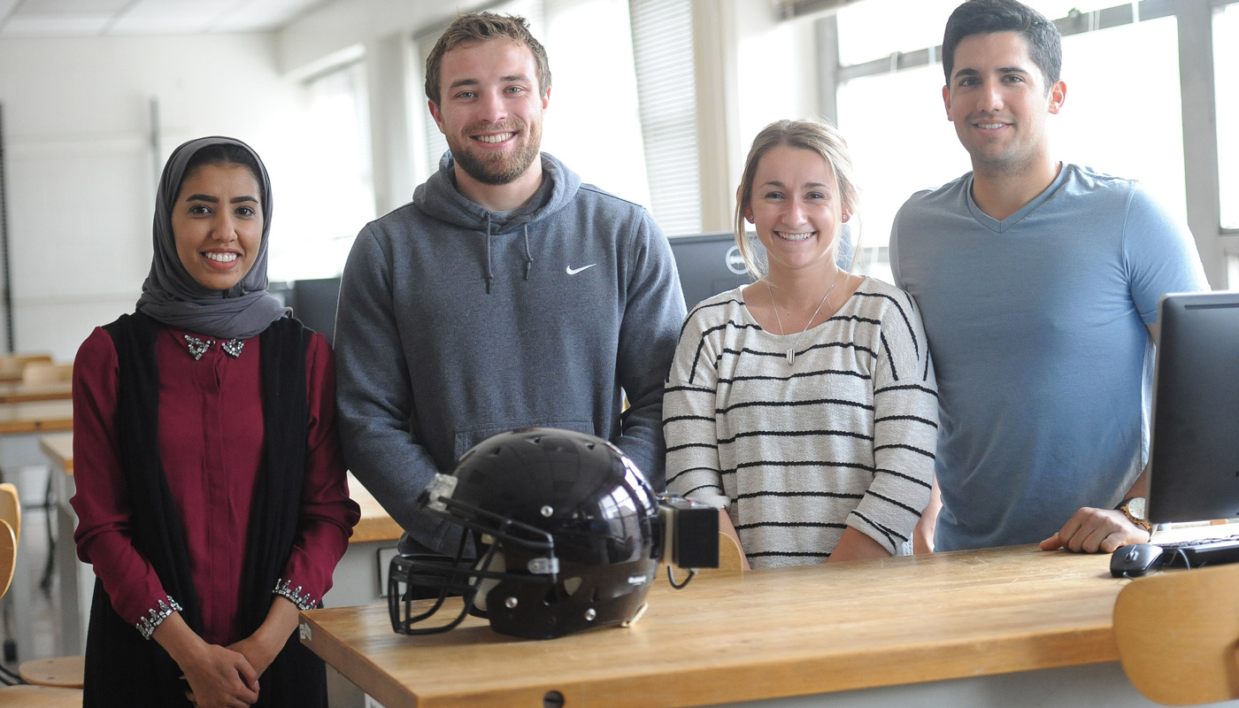 Student invention could help prevent football concussions