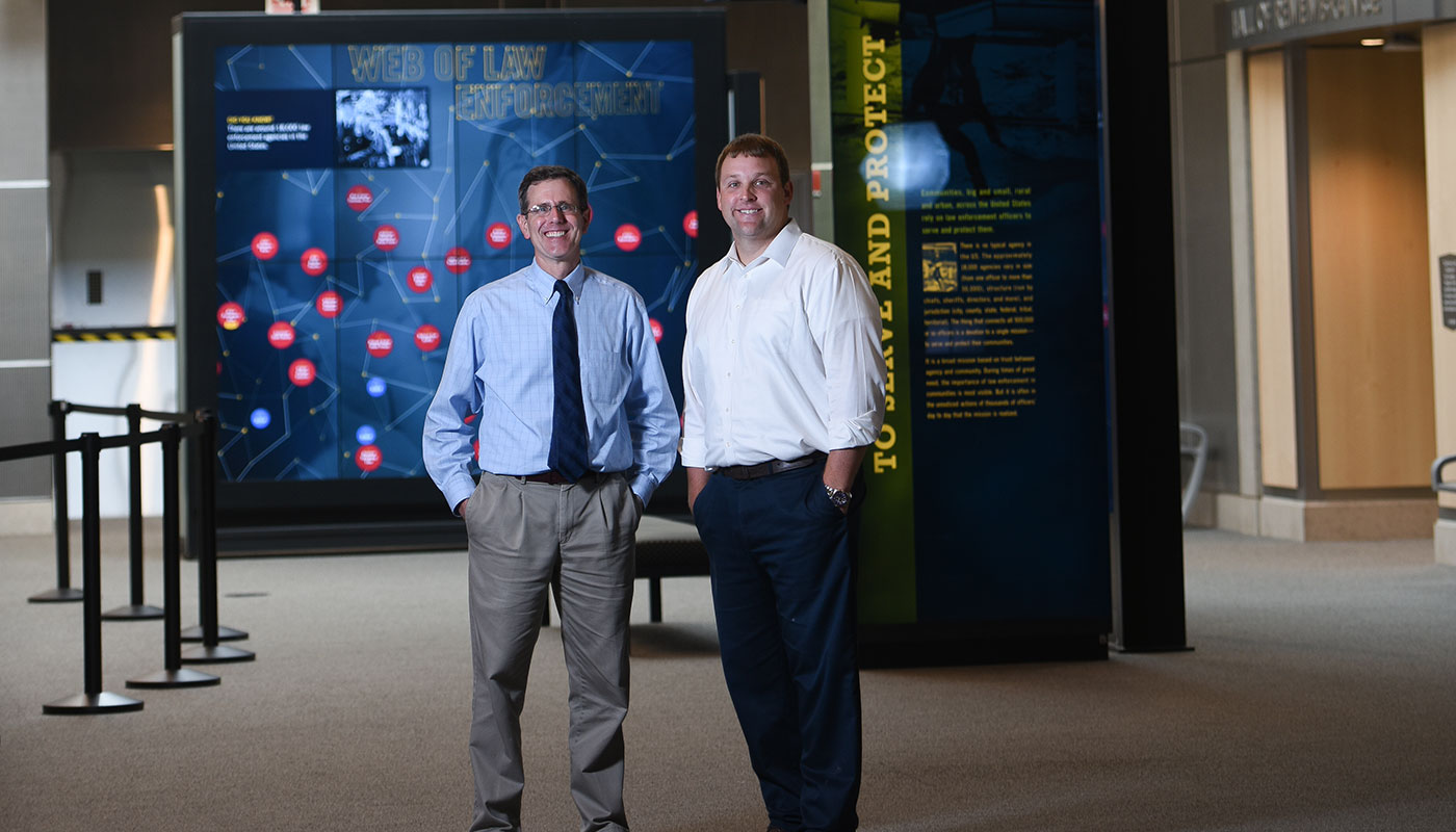 Two Alumni Lay Down the Law at New D.C. Museum