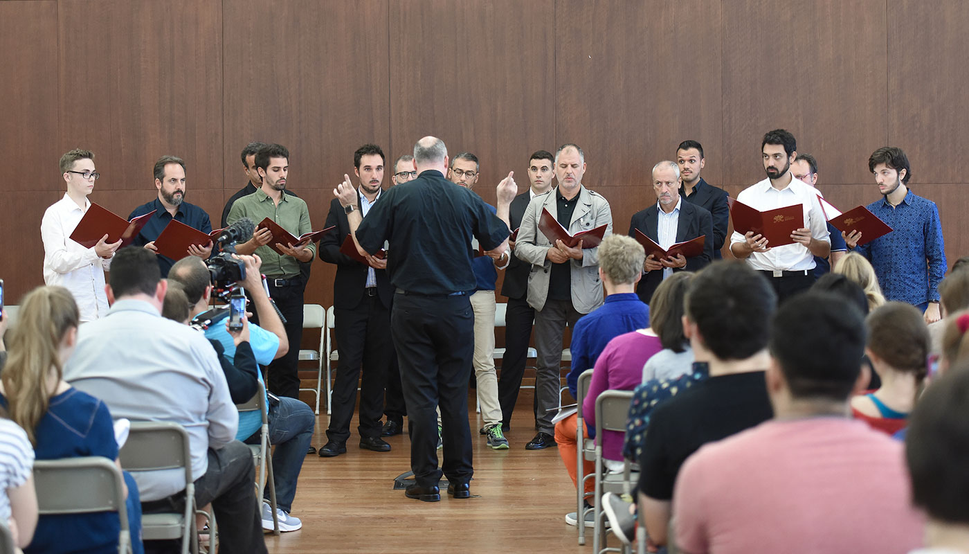 An Audience with the 'Pope's Choir'
