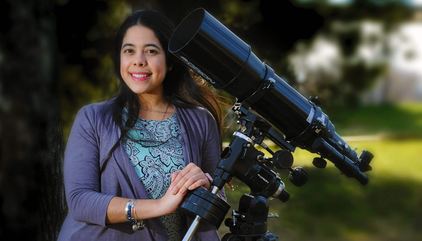 Catholic University students explore the universe alongside NASA scientists