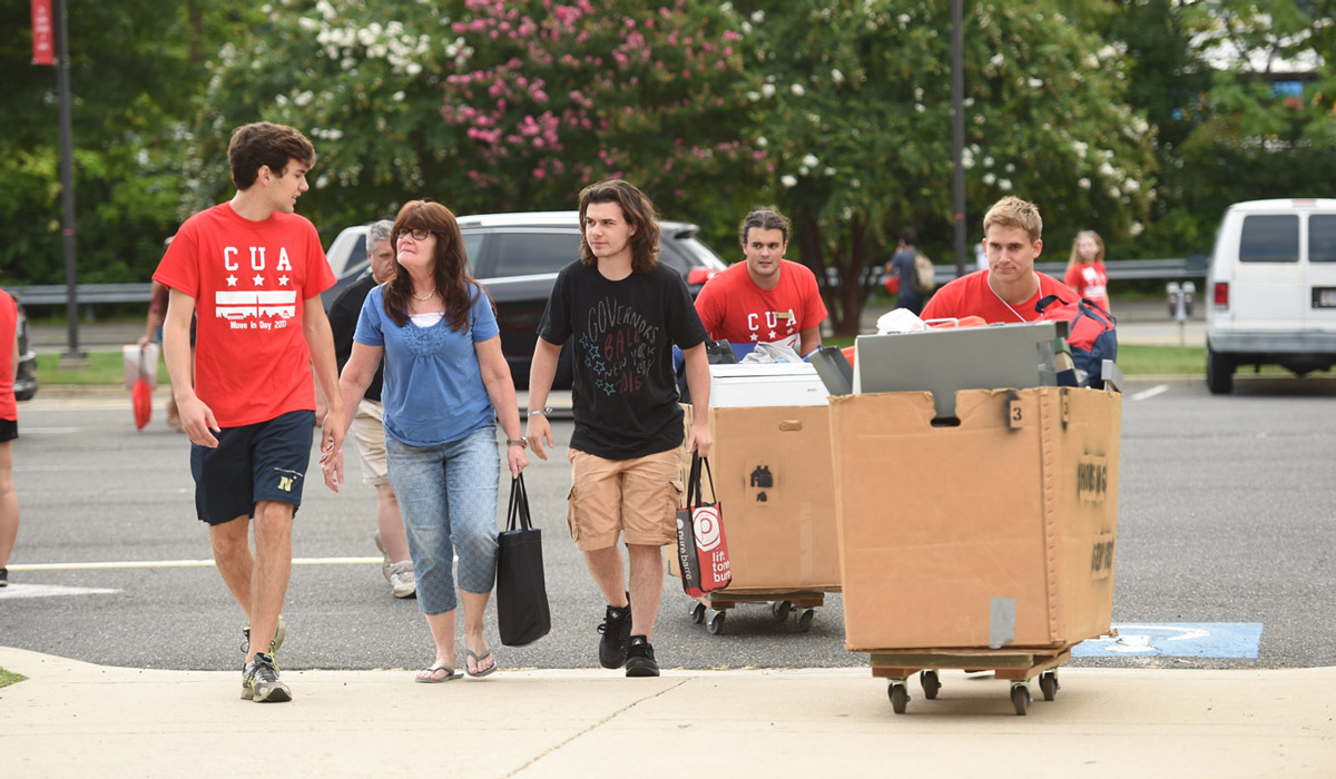 Class of 2021 Move-in Day