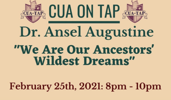 CUA on Tap with Dr. Ansel Augustine