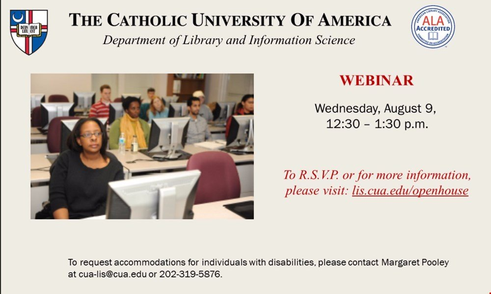 Library and Information Science Virtual Information Session
