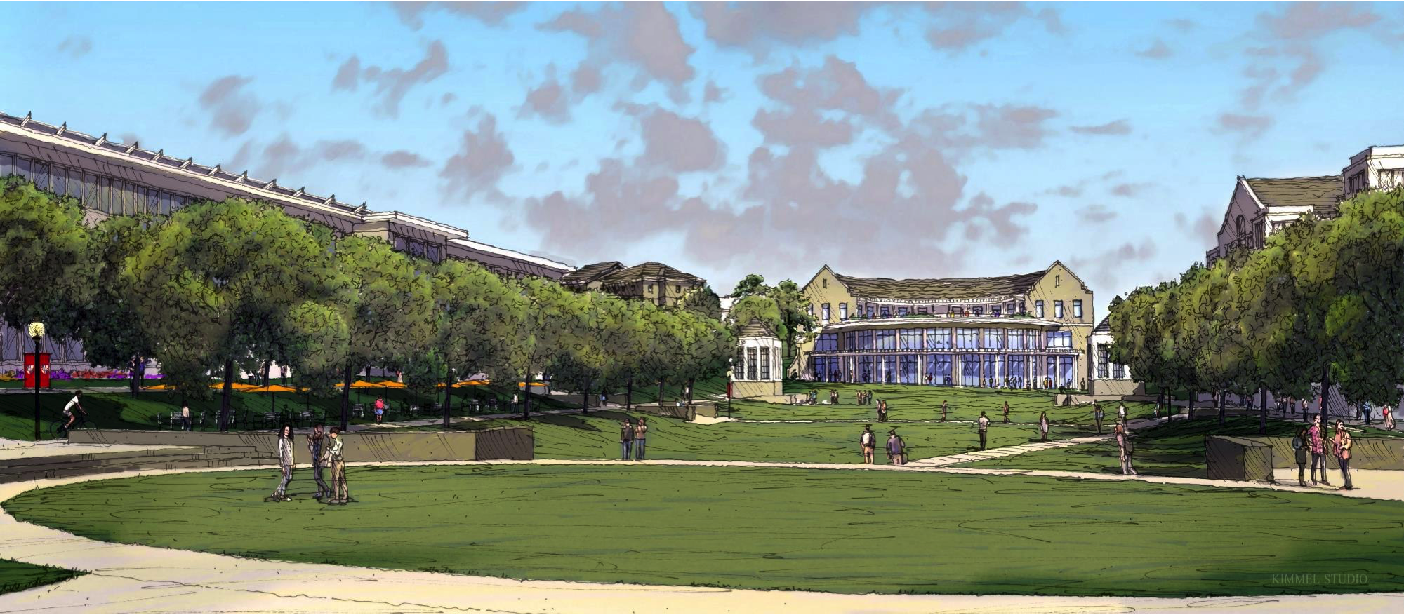 future dining hall rendering