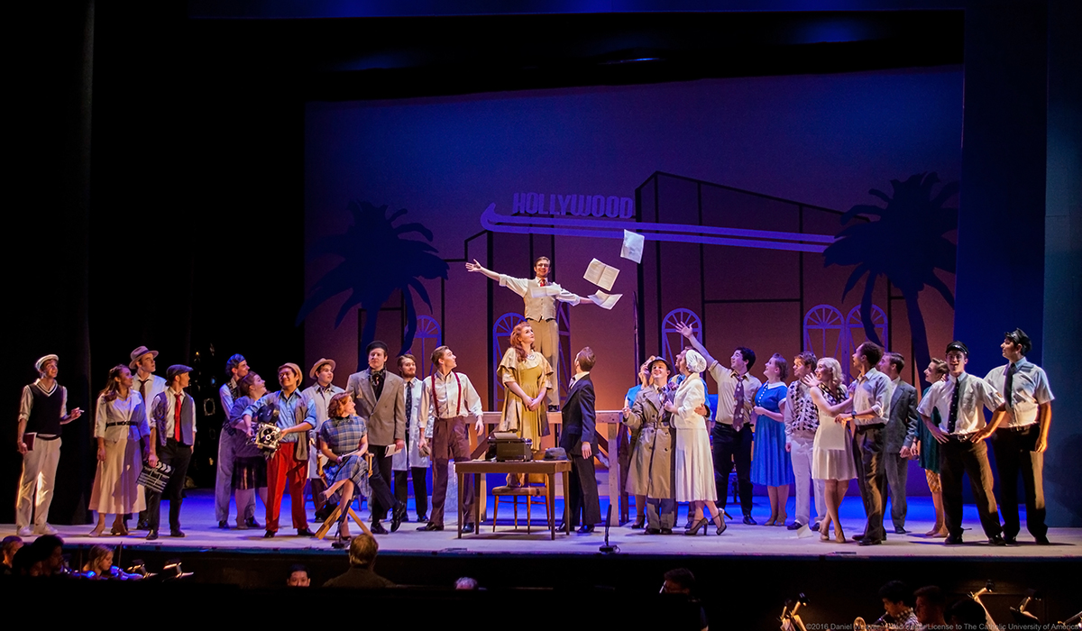 Catholic University's production of City of Angels wins praise.