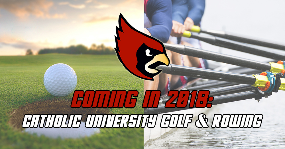 CUA Golf and Rowing
