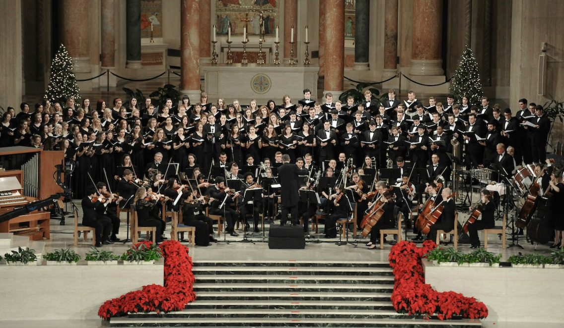 Catholic University and the Basilica of the National Shrine of the Immaculate Conception hosted the 27th Annual Christmas Concert for Charity.