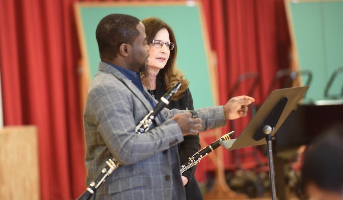 McGill in a duet