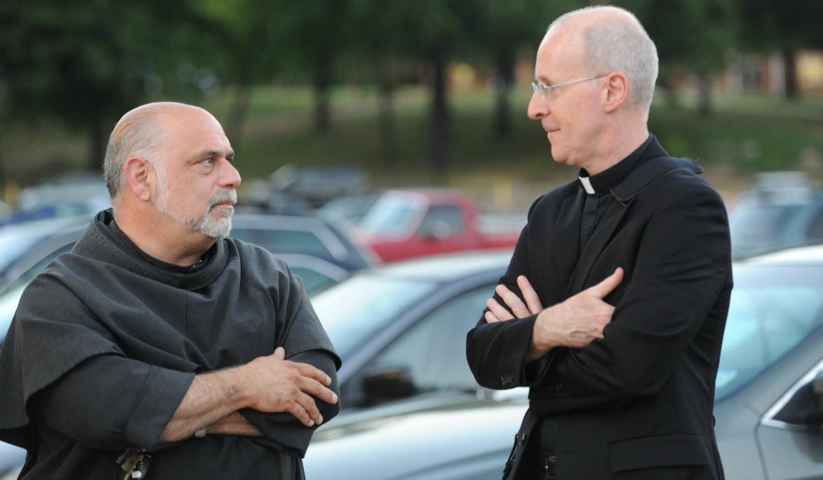 Father Jude and Father Martin