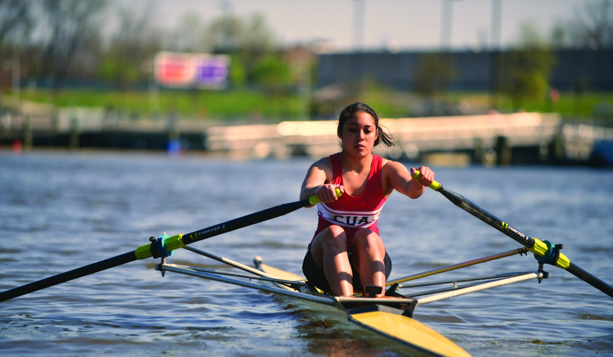 Catholic University rowing
