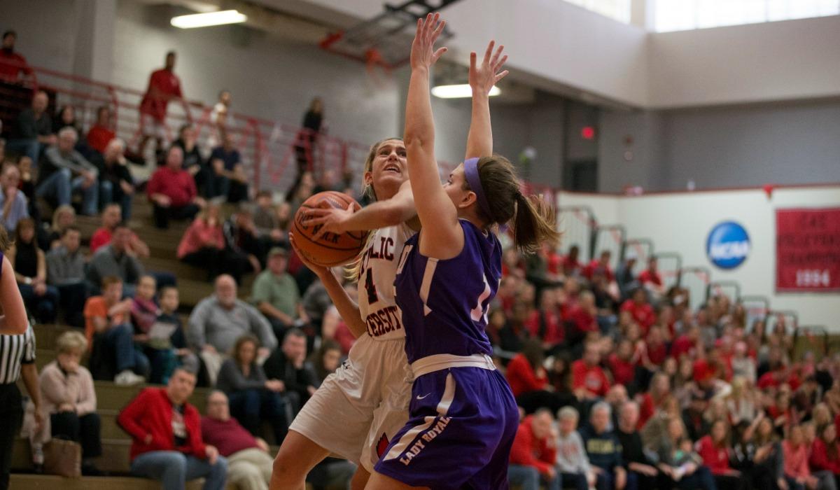 Catholic University women's basketball