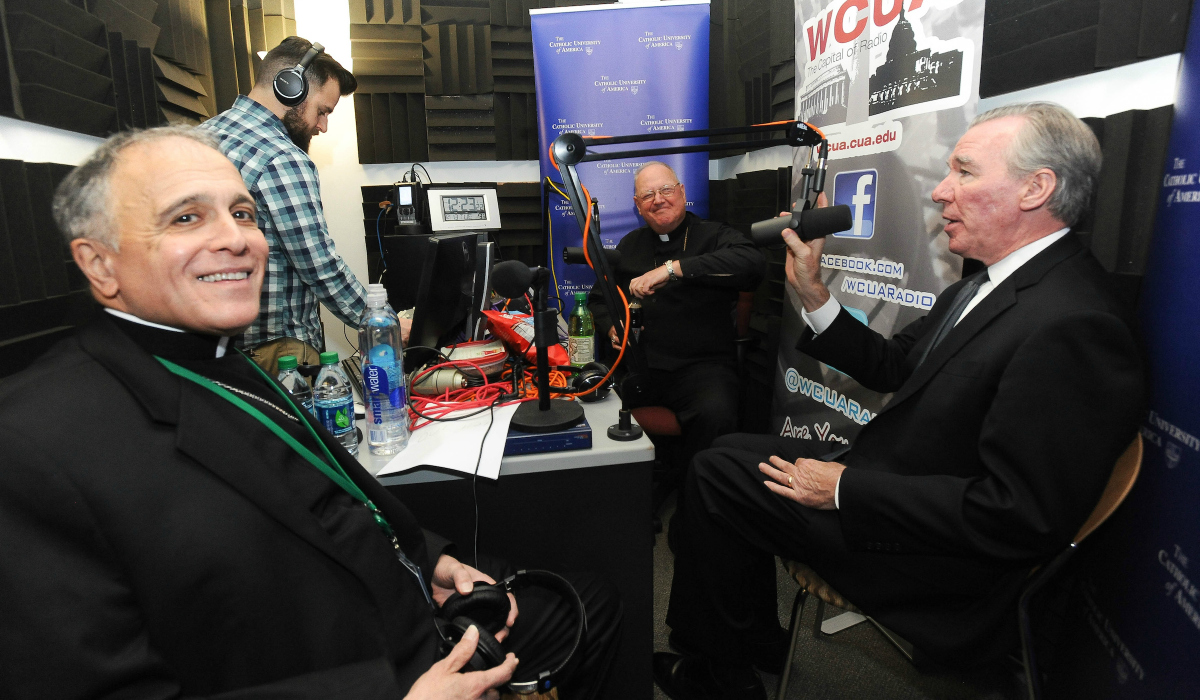 Cardinal Dolan in WCUA