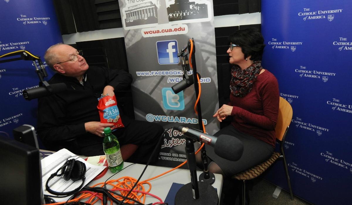 Cardinal Dolan in the radio