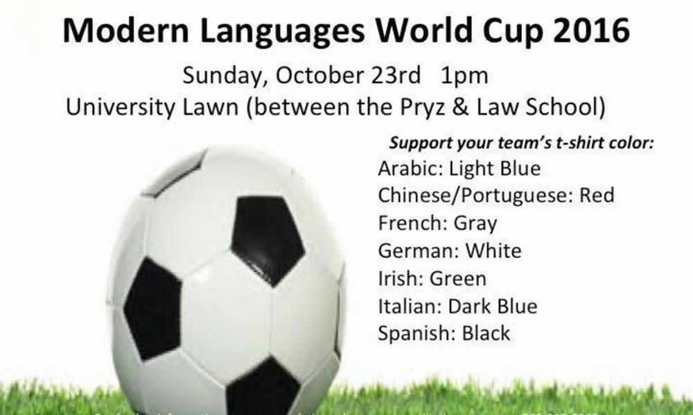 Modern Languages World Cup 2016