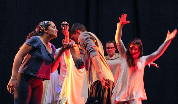 The CUA High School Drama and Musical Theatre Institute Performs