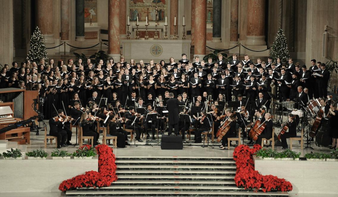 A Night of Sacred Music at Annual Christmas Concert | Washington, D.C. | The Catholic University of America | CUA
